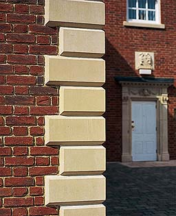 Quoins for Brick quoin corners